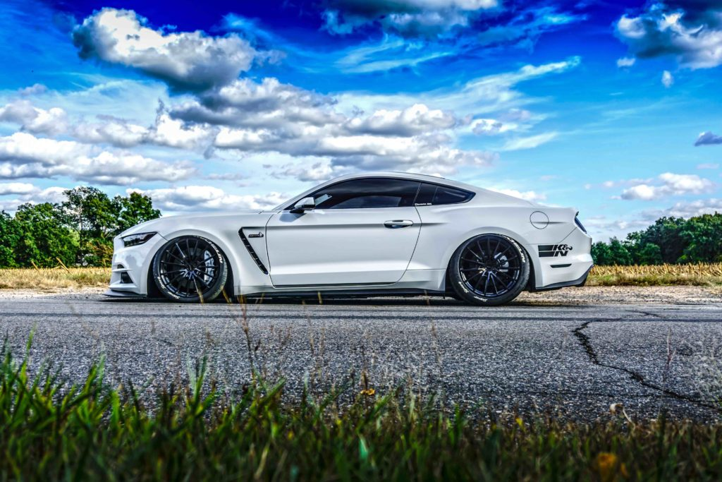 2016 Mustang Hood Scoop >> 'Project Anna' Repping Slammed Stangs – slammedstangs | Ford Mustang Builds, Culture, Lifestyle