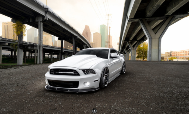 Bagged and Boosted S197 Mustang