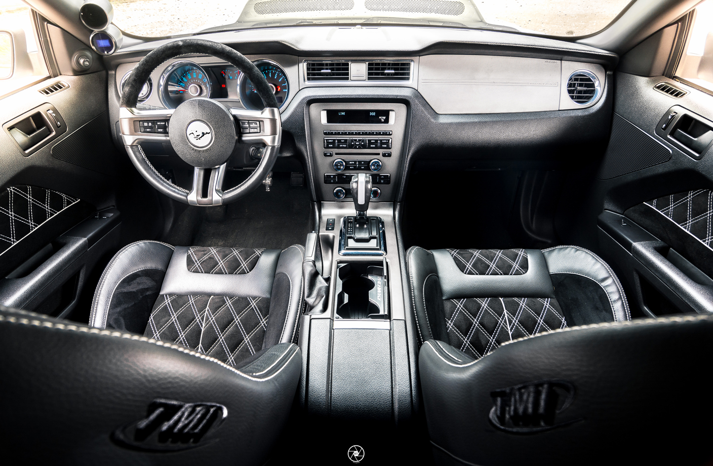 Bagged and Boosted S197 Mustang TMI Products Interior