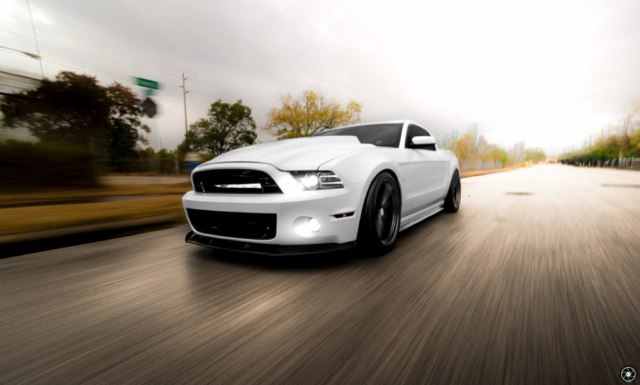 Bagged and Boosted S197 Mustang Rolling Shot