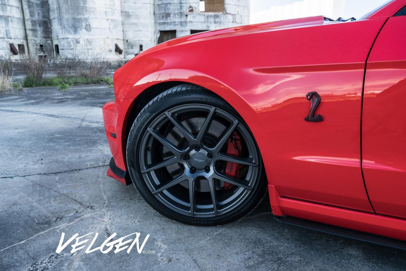 Velgen Wheels Slammedstangs Ford Mustang Builds