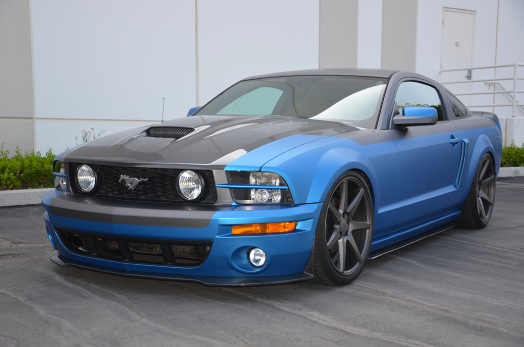 Tmi Products 2005 Mustang Gt Sema Build Slammedstangs Ford