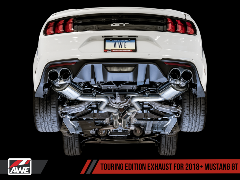 awe tuning launches 2018 s550 mustang performance exhaust. Black Bedroom Furniture Sets. Home Design Ideas